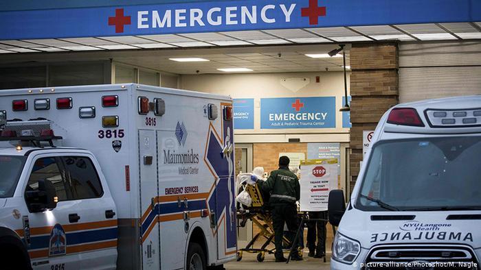 الولايات المتحدة الأمريكية تسجل خلال يوم أكثر من ألف وفاة و56 ألف إصابة بكورونا