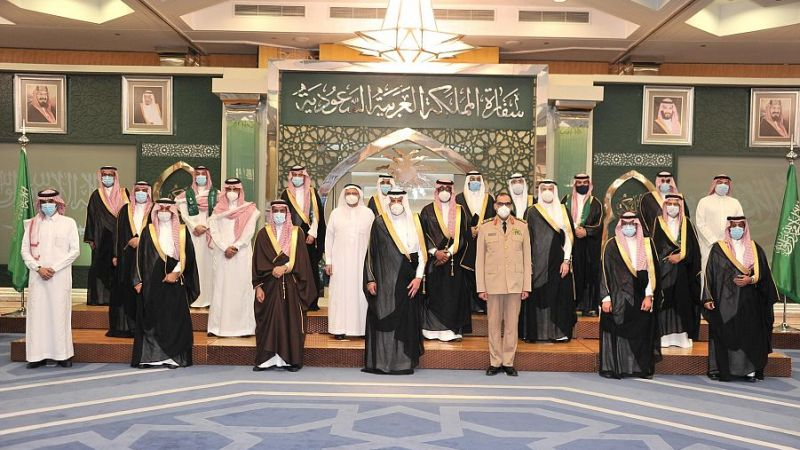 سفارة المملكة في مصر تحتفل باليوم الوطني