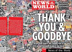 News of the World - Final edition