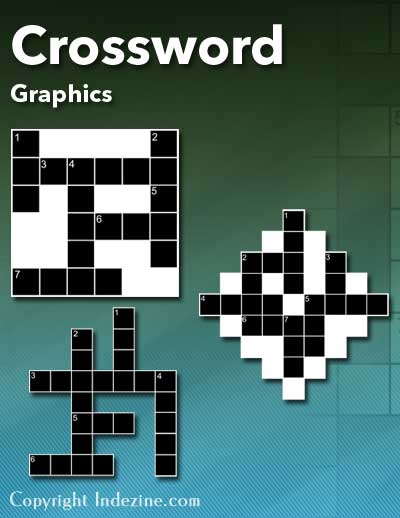 Crossword Graphics For PowerPoint 01 PowerPoint Graphics PowerPoint Downloads