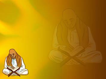 Animated Durga Wallpaper Hindu Priest 02 Powerpoint Template