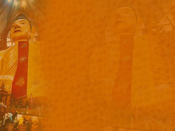 Gautama Buddha 08 PowerPoint Templates