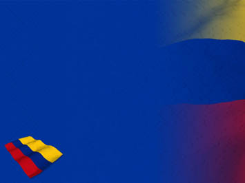 Colombia Flag 07 PowerPoint Templates