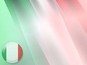 Italy Flag 06 PowerPoint Templates