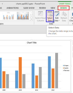Select data button also hiding chart series and categories in powerpoint for windows rh indezine