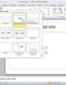 Choose  slide layout in powerpoint also insert an organization chart tutorials rh indezine