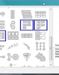 Choose  smartart graphic dialog box also using for simple flowcharts rh indezine