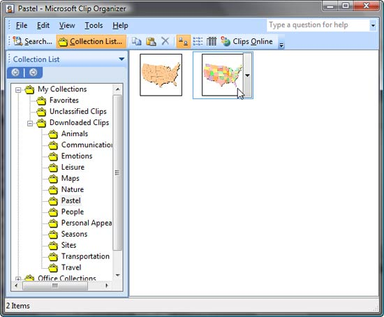 Clip Microsoft Clip Art Organizer