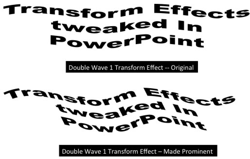 Advanced Text Transforms in PowerPoint 2011 for Mac