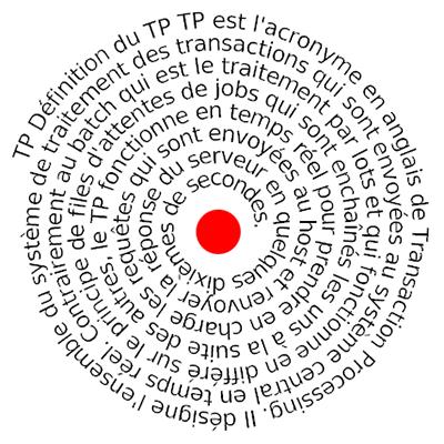 indg.fr : Le TP, le traitement transactionnel