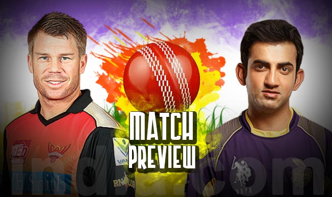 Sunrisers Hyderabad vs Kolkata Knight Riders IPL 2015 ...