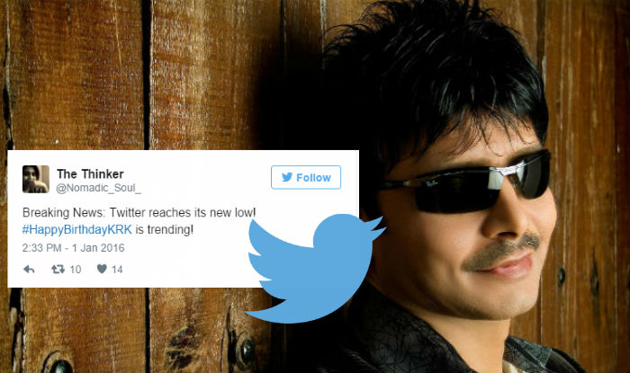 You Cannot Miss These 10 Funny Tweets On Krk S Birthday