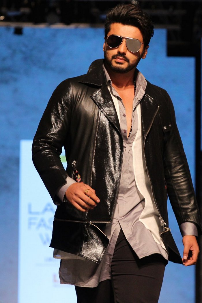 Image result for arjun kapoor leather jacket