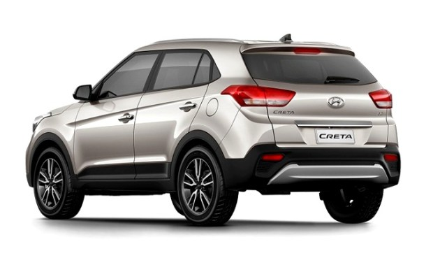 New Hyundai Creta Facelift Rear