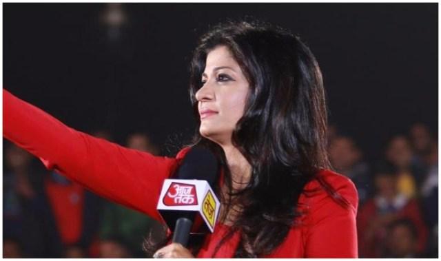 anjana om kashyap - मशहूर भारतीय टीवी पत्रकार अंजना ओम कश्यप – Anjana Om Kashyap Biography
