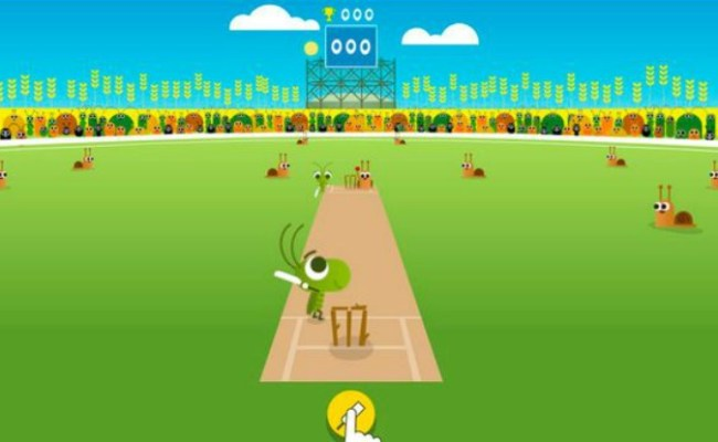 Google Doodle Marks Start Of Icc Champions Trophy With