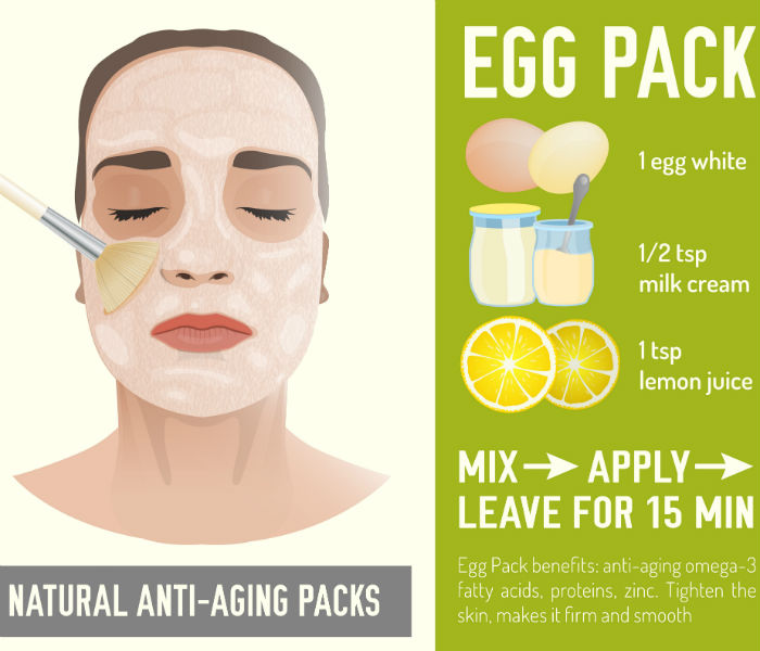 DIY antiageing egg white face mask to get younger looking