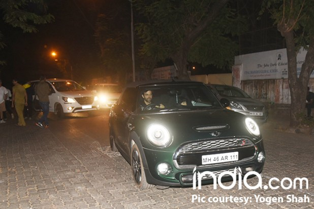 Hrithik Roshan and son leave the film screning satisfied and elated
