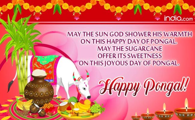 Happy Thai Pongal 2018 Best Pongal Whatsapp Messages