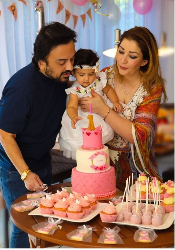 Adnan Sami Celebrates Daughter Medinas First Birthday In Germany Pens An Emotional Letter