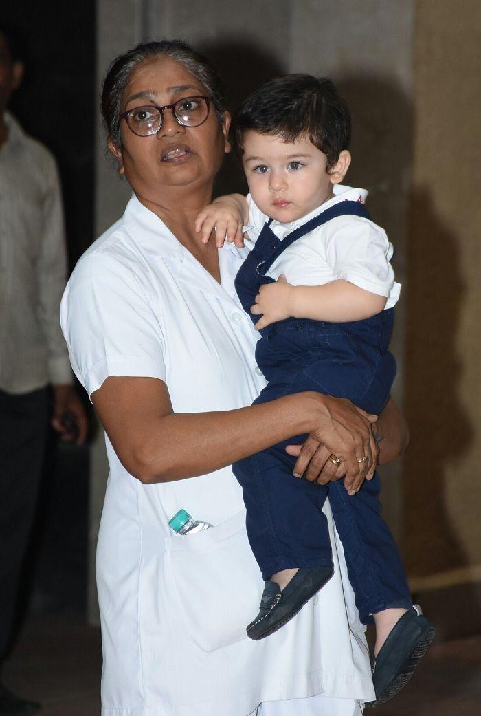 Taimur Ali Khan and nanny