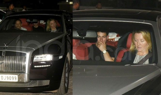 Priyanka Chopra Nick Jonas Head To Salman Khan S House Post Their Wedding Reception Last Night See Photos