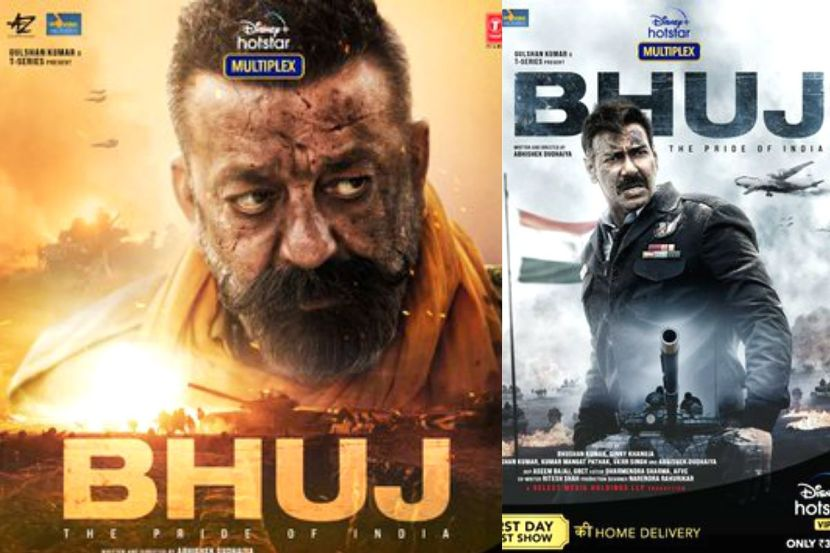Bhuj: The Pride of India Movie Posters: Ajay Devgn And Sanjay Dutt Look Striking in The Story of 1971 Indo-Pak War 1