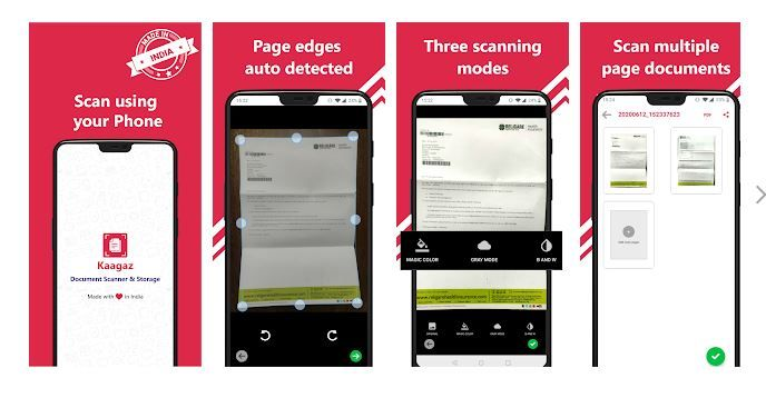 Seems Unreal! Writes Kaagaz Scanner Developer After 100K Downloads Following CamScanner Ban 7