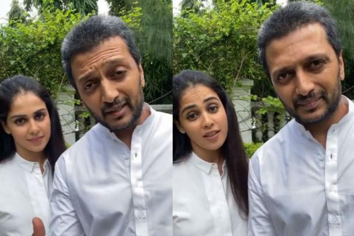 On National Doctor's Day, Genelia Deshmukh And Riteish Deshmukh Pledge to Donate Their Organs 133