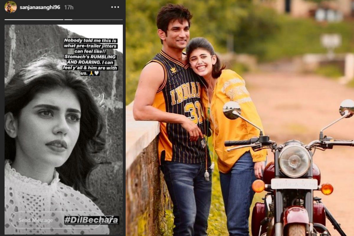 Dil Bechara Trailer: Sanjana Sanghi Gets 'Roaring Stomach' Ahead of Trailer Release of This Sushant Singh Rajput Starrer 52