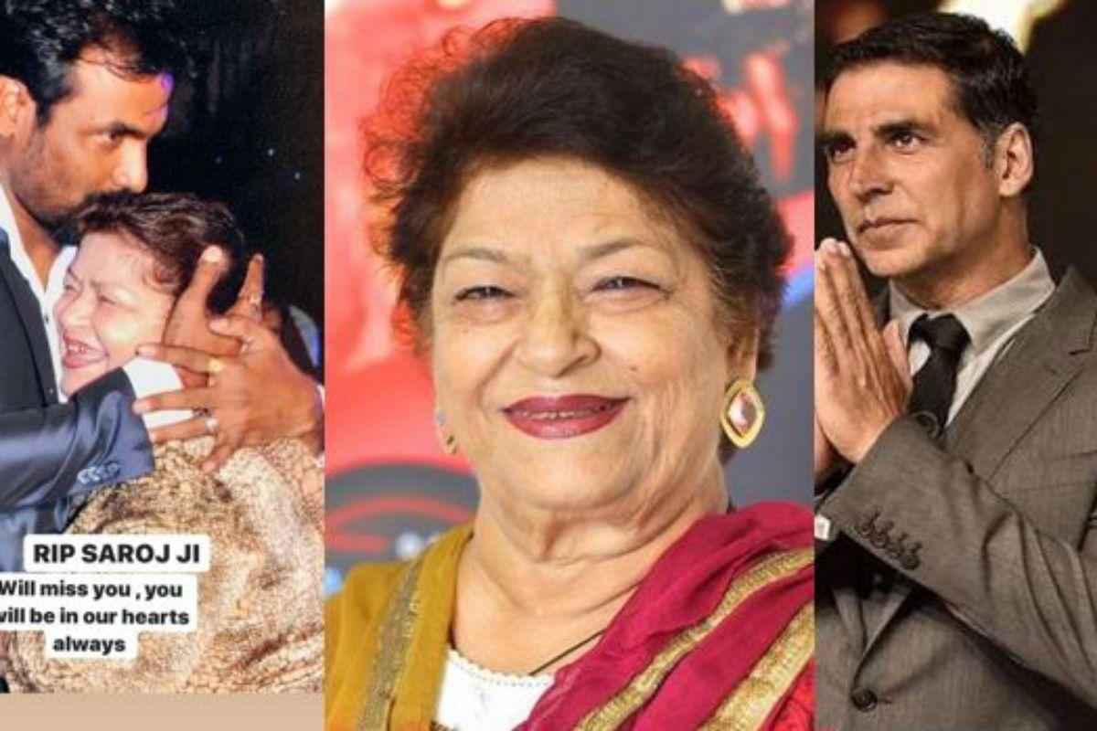 Saroj Khan Dies at 71: Farah Khan, Remo D'souza, Akshay Kumar, Taapsee Pannu And Other Celebs Mourn The Demise of Bollywood's Masterji 141