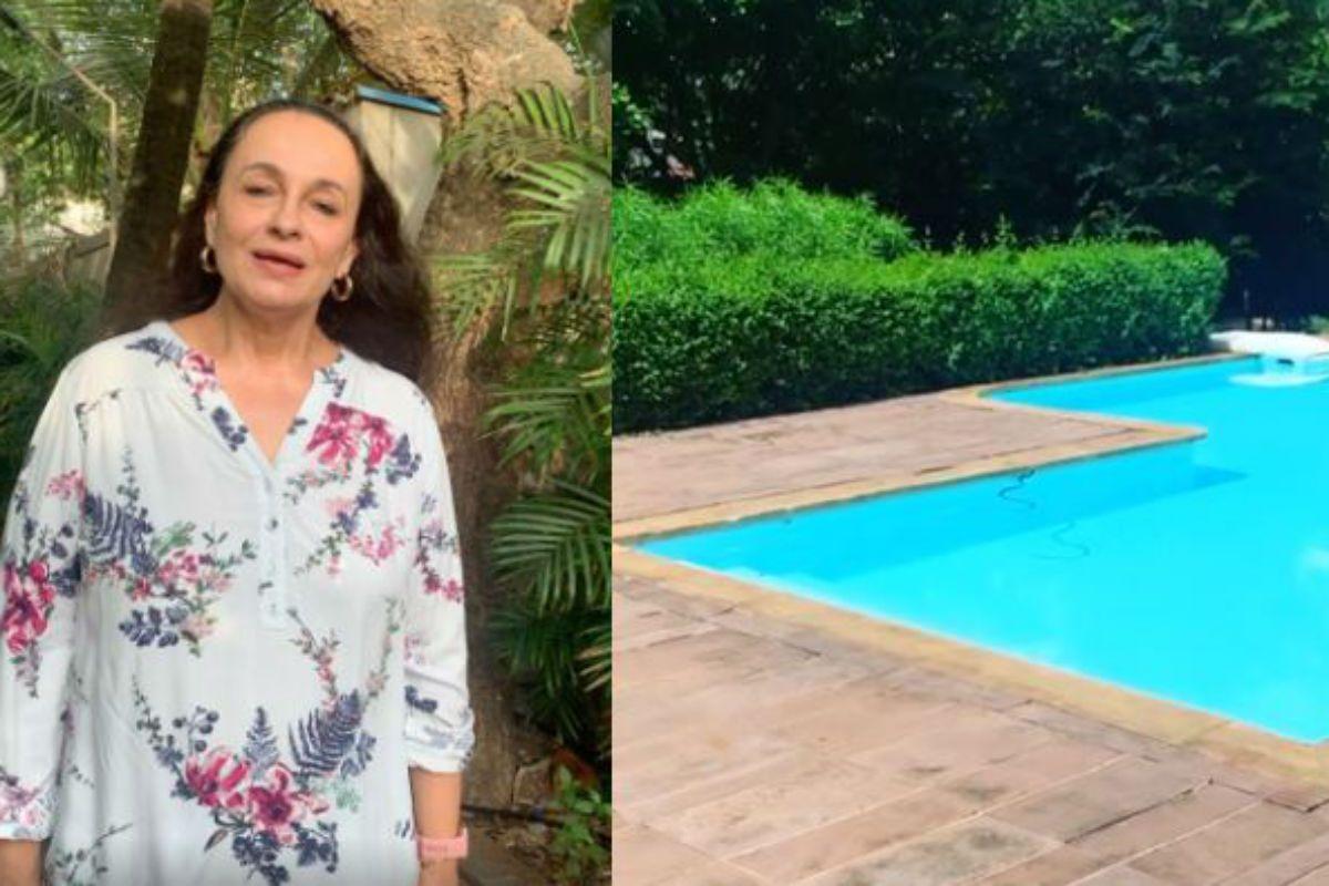 Alia Bhatt's Mother Soni Razdan Finds a Snake in Her Swimming Pool- Watch Videos 145