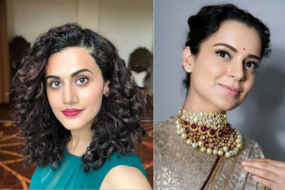 Good Acting, a Solo Hit! Kangana Ranaut Gives Tips to Taapsee Pannu on How to Become 'A-Lister' Actor
