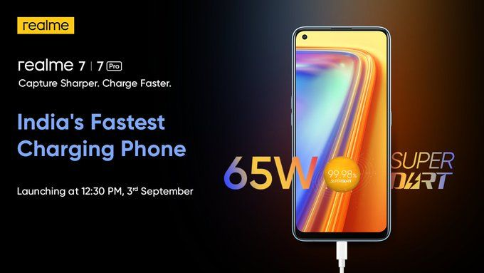Realme 7 and 7 Pro Confirms to Launch in India on September 30 – Check Specifications, Price, Camera