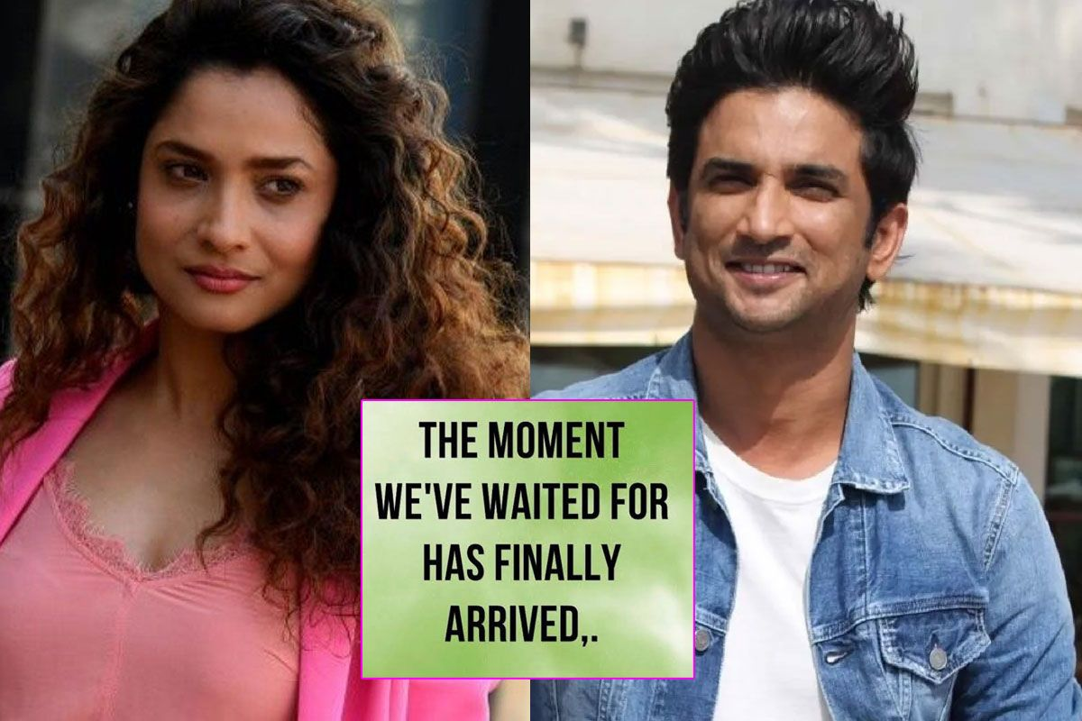 'The Moment Waited For Has Arrived'! Ankita Lokhande Hails CBI Probe in Sushant Singh Rajput's Death Case