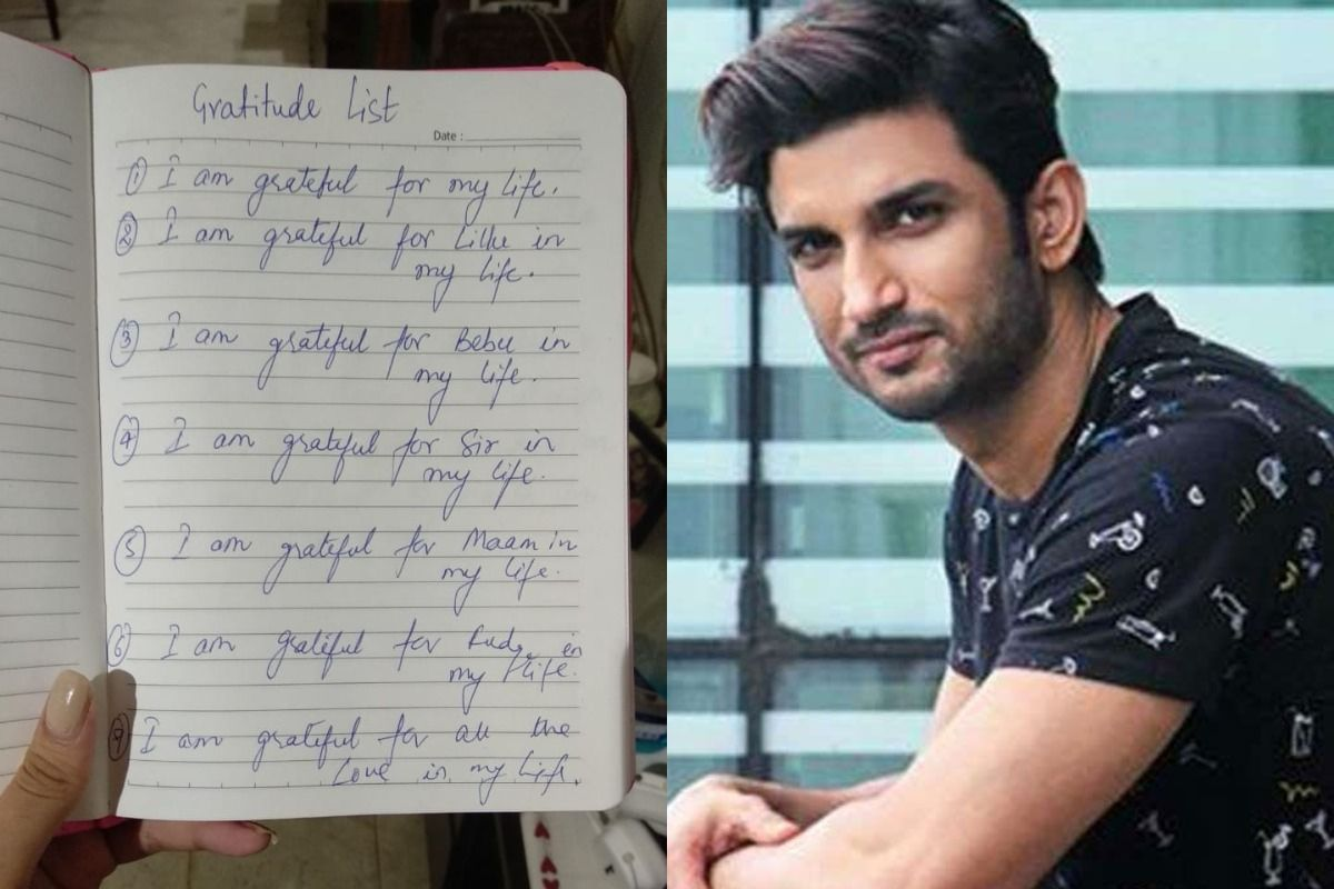 Rhea Chakraborty Shares 'Note of Gratitude' Written By Sushant Singh Rajput For Her And Her Family