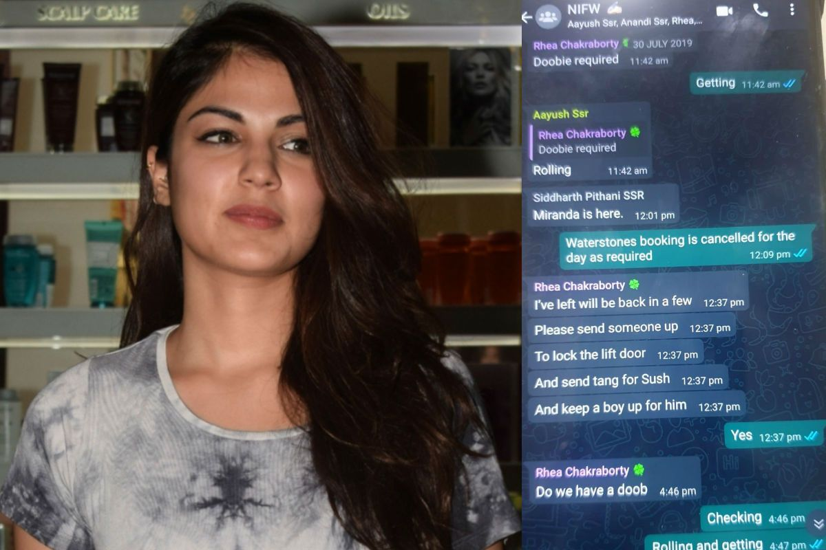 Rhea Chakraborty's New WhatsApp Chats With Siddharth Pithani And Others About 'Doobie' Revealed by Sushant Singh Rajput's Sister Shweta Singh Kirti