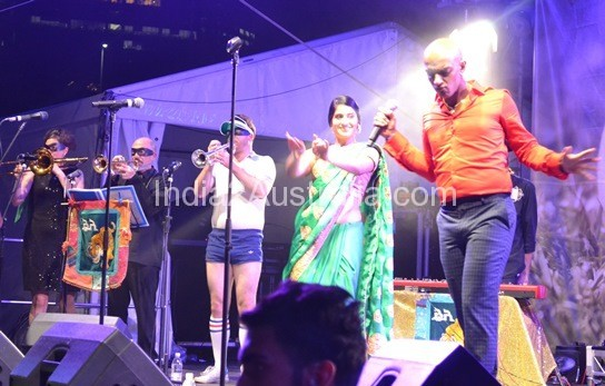 Bombay Royale Performing at Indian Stage