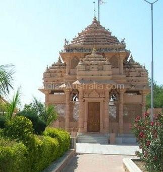 A Hindu Temple with Muslim Woman as deity