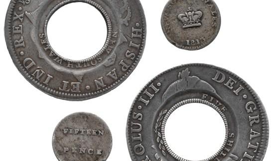 Holey dollar – Australia's first coin