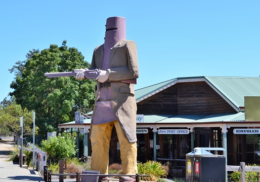 A drive through the Ned Kelly Tourist route
