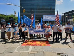 Uyghurs urge G7 to address China's ongoing genocide In East Turkistan