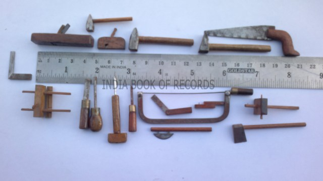 MINIATURE WOODWORKING HAND TOOLS