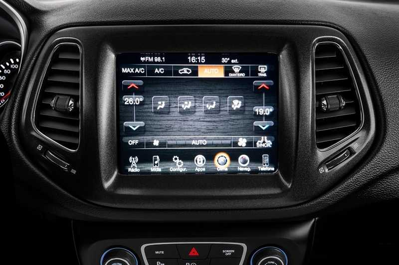 2017 Jeep Compass Infotainment System