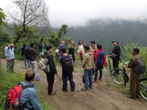 Shimla Wildlife Sanctuary Hike 2015