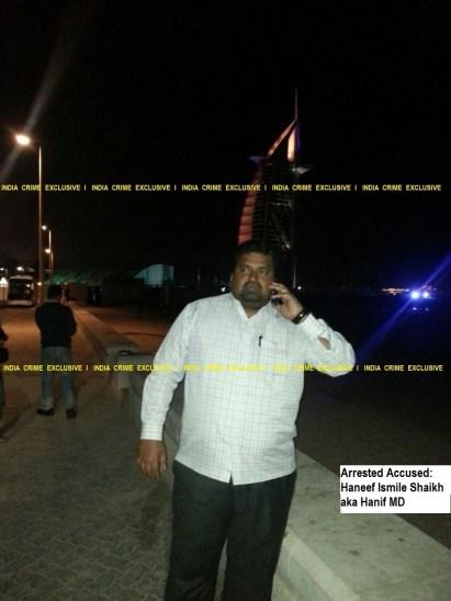 Mafia D-Company Hanif Ismail Shaikh aka Hanif MD-20160527