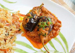 Achari Baigan, Eggplant Dish