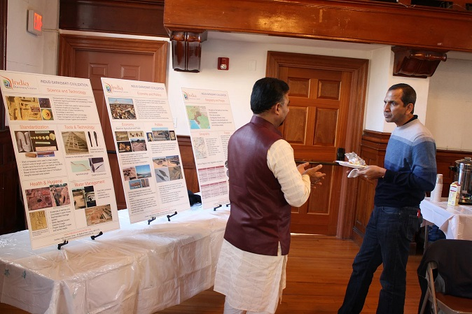 Engaged conversation SAnjeev Tripathi, Sonti Sharma
