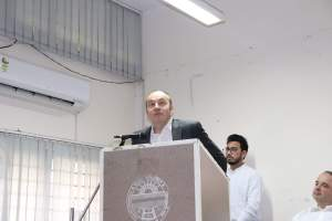 Prof Laurent speaks at Developers tutorial in Panjab University