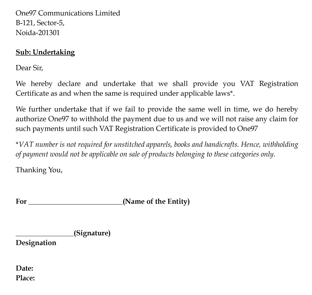 Registration Letter Format Resignation To College